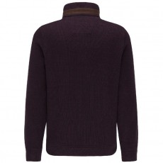 Fynch-Hatton Troyer-Zip Moulinee Pullover