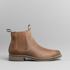 Barbour Farsley Boots Dark Tan