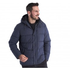 Barbour Beeston Quilt  Moody Blue