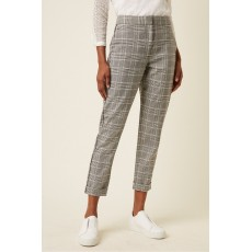 Great Plains Paradis Check Black Trousers