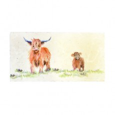 Highland Cow Sharing Platter Large