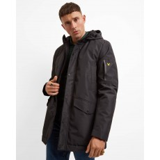 Lyle & Scott  Technical Black Parka