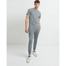 Lyle & Scott  Crew Neck Mid Grey Crew Neck T-Shirt