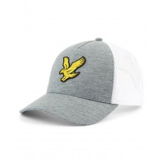 Lyle & Scott  Trucker Mid Grey Cap