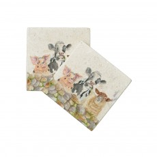 Farmyard Coasters