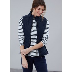 Joules Fallow Padded Gilet With Funnel Neck