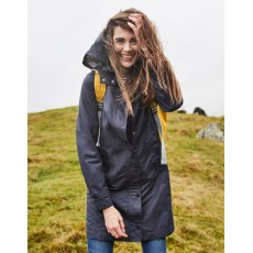 Joules Headland A-Line Raincoat With Removable Hood