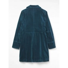 White Stuff Highbrook Velvet Coat