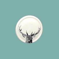 Majestic Stag China Coaster
