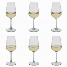 Dartington White Wine Glasses Set 6