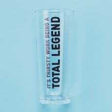 Jock Pint Glass Legend