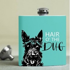 Jock Hair Of The Dug Hip Flask