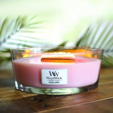 Woodwick Coastal Sunset Ellipse Candle