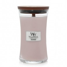 Woodwick Rosewood Large Hourglass Candle