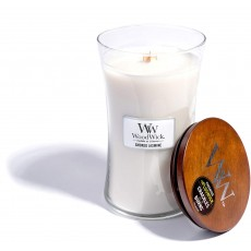 Woodwick Smoked Jasmine Large Hourglass Candle