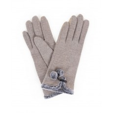 Betty Wool Gloves-Slate