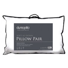 Dunlopillow Soft As Down Pillow Pair