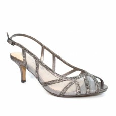 Lunar Miley Pewter Mesh Elegance Shoe