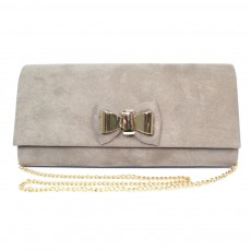 Lunar Pippy Taupe Evening Bag
