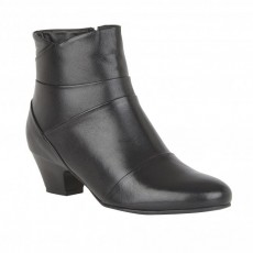 Lotus Tamara Black Leather Boot