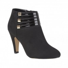 Lotus Nell Black Shoe Boot
