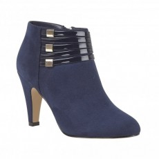 Lotus Nell Navy Shoe Boot