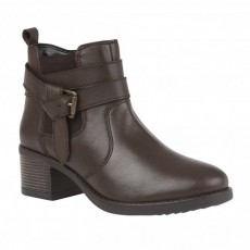 Lotus Janet Brown Leather Boots