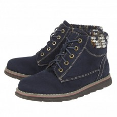 Lotus Sycamore Navy Boots