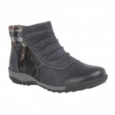Lotus Violette Navy Boot