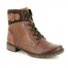 Remonte Brown Lace Up Boot