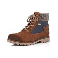 Remonte Brown/Navy Boot