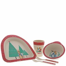 Beatrix Potter Peter Rabbit Christmas Dinner Set