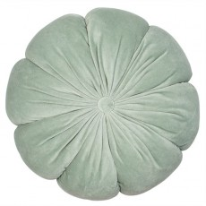 Fleur Flower Shaped Cushion Mint 40 x 40