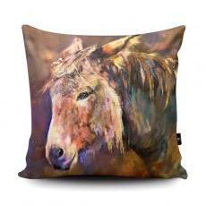 Sue Gardner Donkeys Cushion