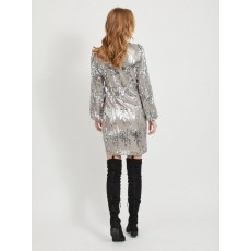 Vila  Gabba LS Dress Sequin