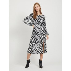 Vila Mamilda Zebra Dress