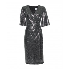 Joseph Ribkoff Black/Silver Dress