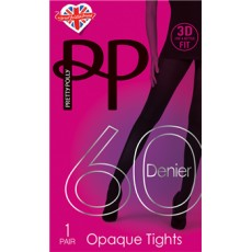 Pretty Polly 60 Denier 3D Tights