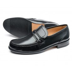 Loake Rome Shoe Black