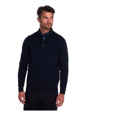 Barbour Tain Half Zip  Navy