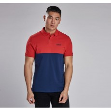 Barbour International Cotter Polo Lava