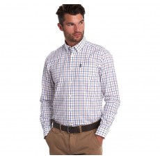 Barbour Tattersall 13 TF Shirt Sandstone