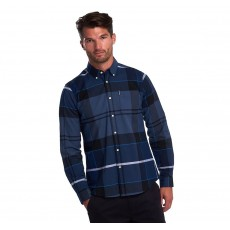 Barbour Sutherland Shirt Inky Blue