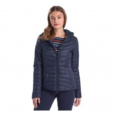 Barbour Ashore Quilt   Navy