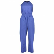 Great Plains Elora Cotton Sleeveless Jumpsuit Cornflower Blue
