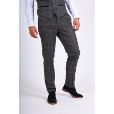 Marc Darcy Scott Tweed Check Trousers