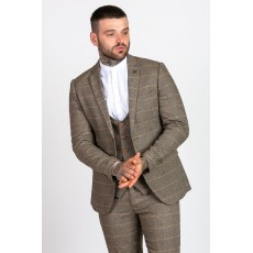 Marc Darcy Ted Tweed Check Jacket