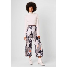 French Connection Asha Drape Printed Culottes Multi