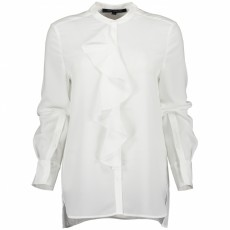 French Connection Elna Light Ruffle Shirt