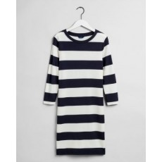 Gant D2. Barstriped Jersey Dress
